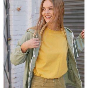 Yellow brandy long sleeve